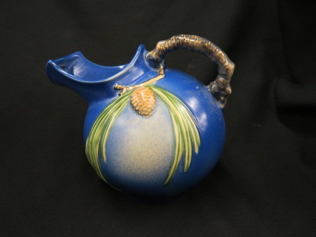 """Roseville Pottery """"Pinecone"""" Pitcher,"""