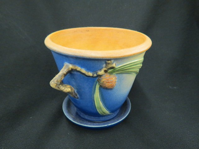 "Roseville Pottery ""Pinecone"" Planter,"