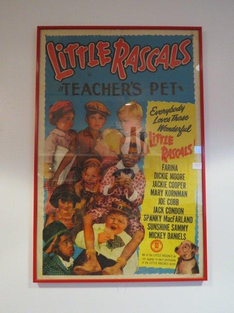 Original Little Rascals Movie Poster,