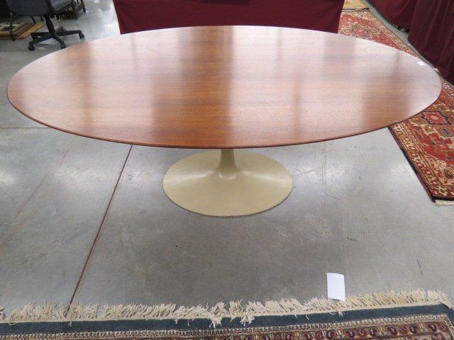 """Saarinen Teak """"Tulip"""" Table for Knoll"""