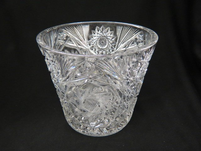 Cut Glass Wine Cooler or Champagne