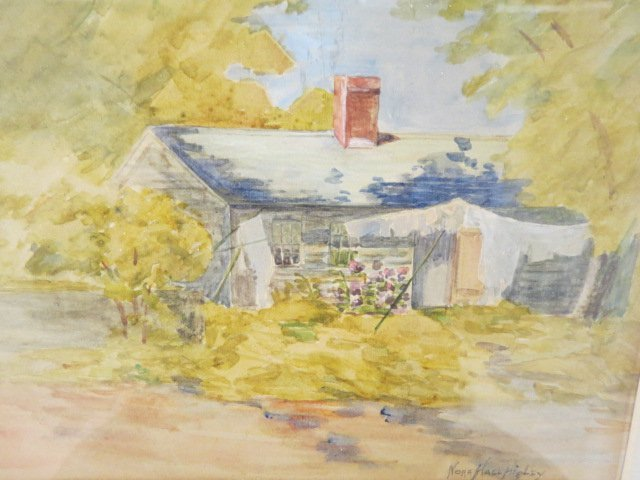 Nora Hall Higley, Watercolor,