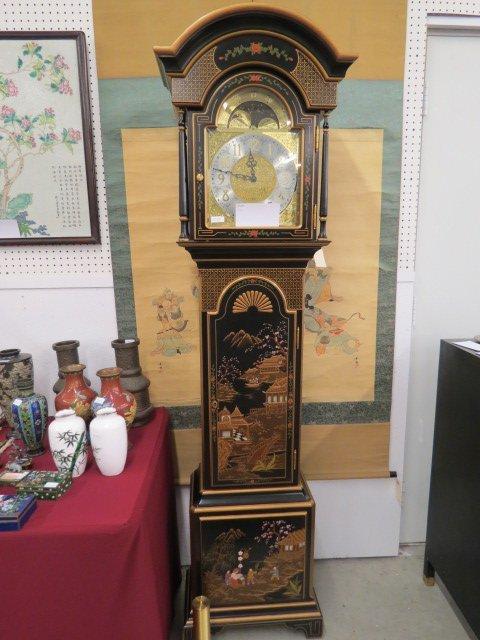 Sligh Grandfather Clock in Oriental