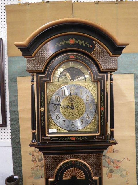 Sligh Grandfather Clock in Oriental - 2