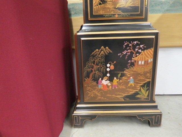 Sligh Grandfather Clock in Oriental - 4