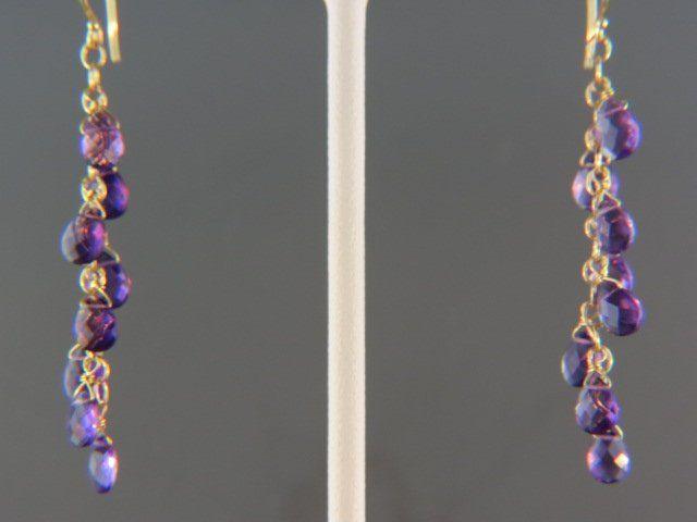 Amethyst Earrings,