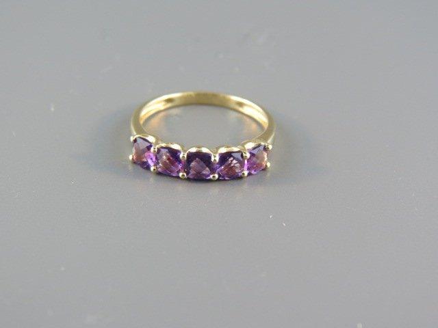Amethyst Ring,