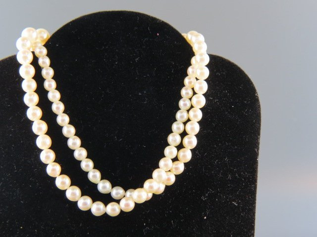 Pearl Necklace, Akoya,