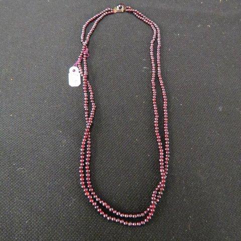 Garnet Necklace,