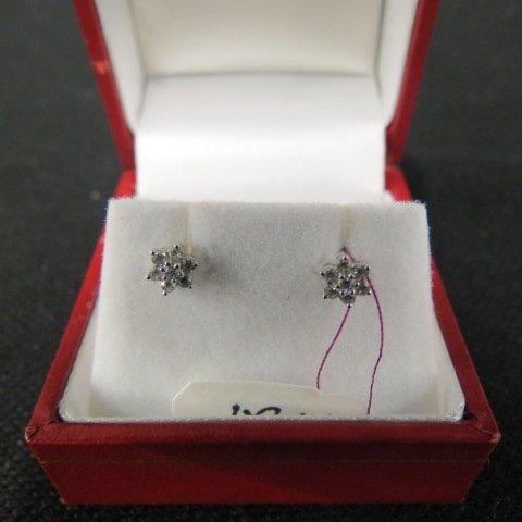 Diamond Earrings,