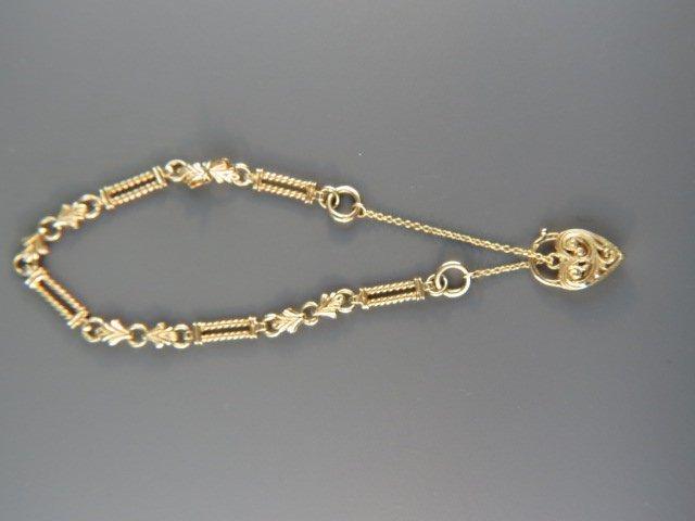 14k Gold Bracelet,