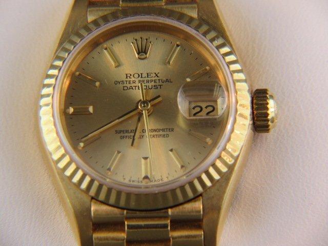 Rolex President Ladies Wristwatch,