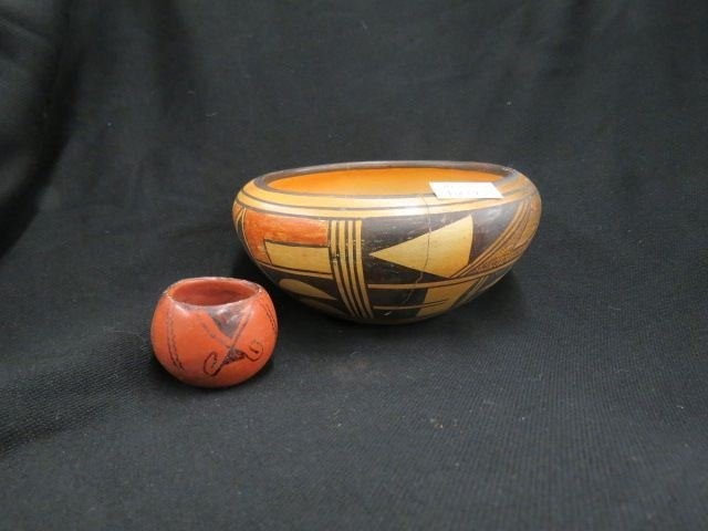2 pcs. Indian Pottery,