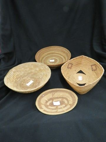 4 Indian Baskets,