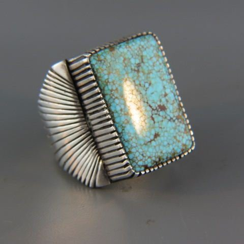 Navajo Indian Turquoise Ring,