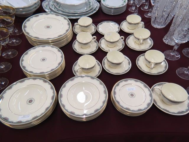 "62 pc. Royal Doulton ""Albany"" Dinner Service,"