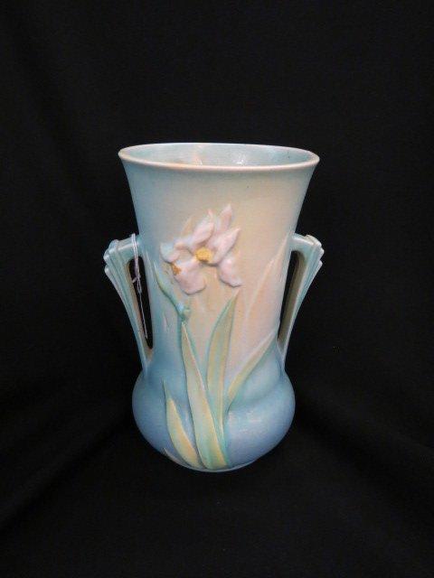 Roseville Iris Art Pottery Vase,