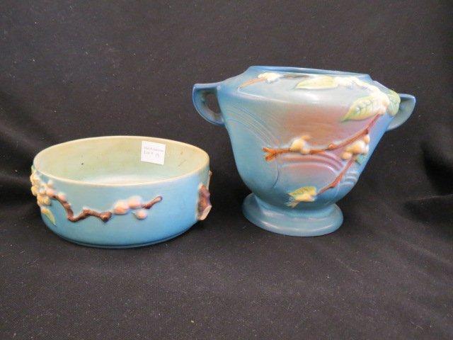 2 pcs. Roseville Pottery;