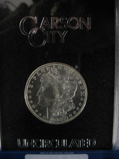 1883 Carson City Morgan Silver Dollar,