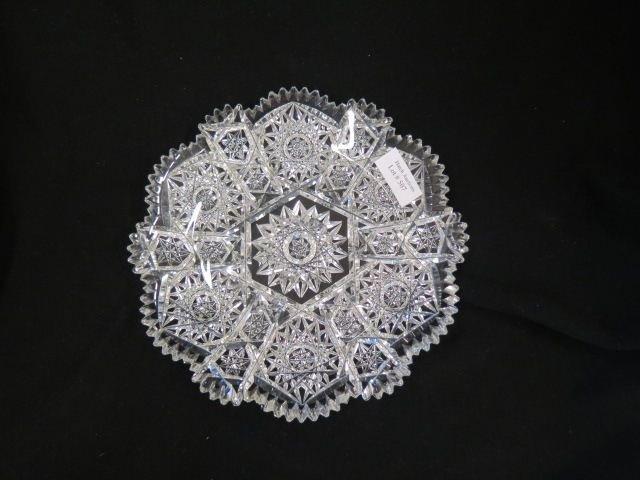 Cut Glass Plate,