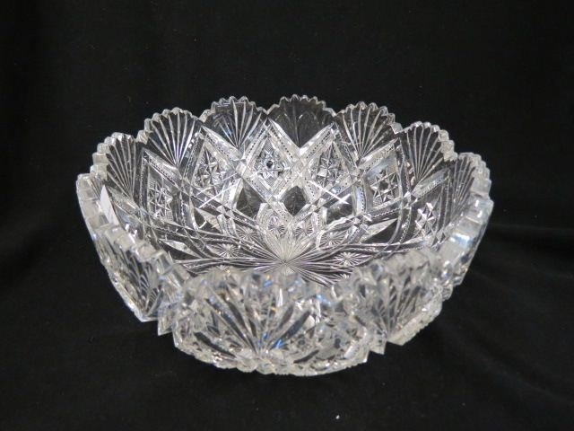 Cut Glass Bowl,