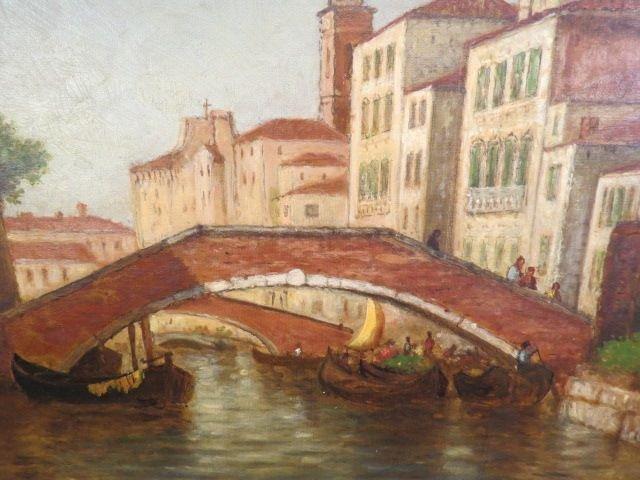 Christopher P. Cranch, oil, Venice,
