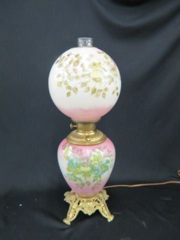Victorian Parlor or Banquet Lamp,