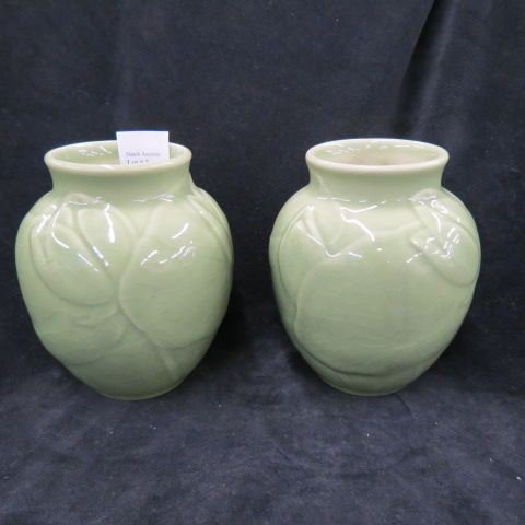 Pair of Rookwood Art Pottery Vases,