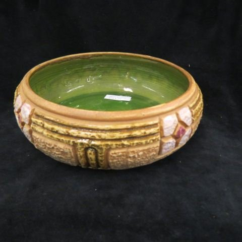 "Roseville ""Mostique"" Art Pottery Bowl,"