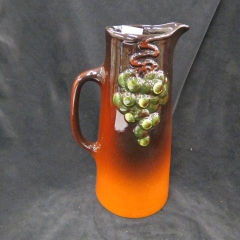 "Weller ""Floretta"" Art Pottery Tankard,"