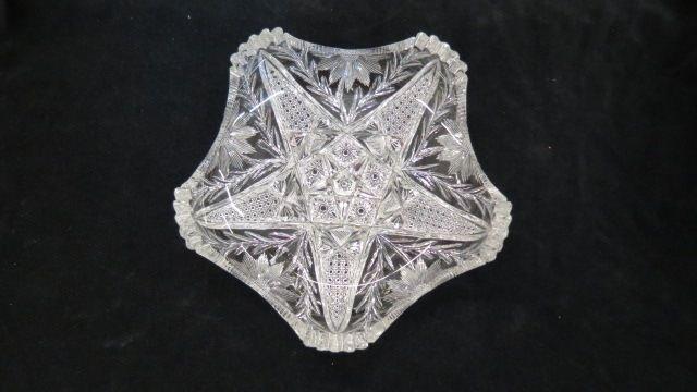 Cut Glass Dish,
