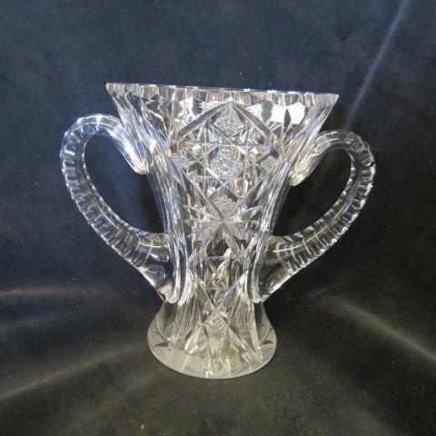 Cut Glass Loving Cup,