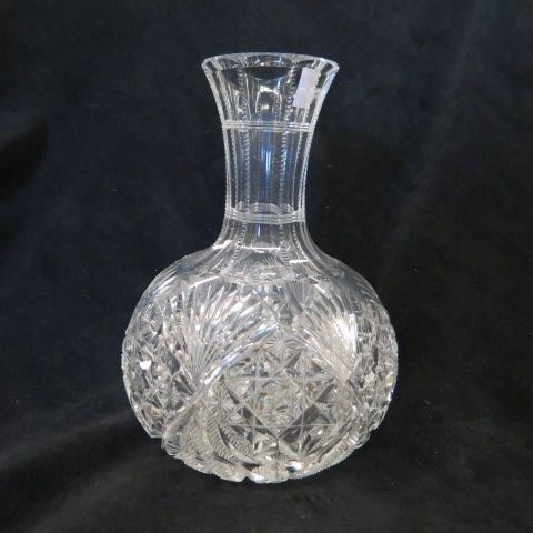 Cut Glass Carafe,