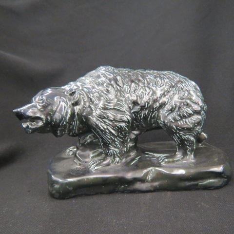 Mosaic Tile Company Art Pottery Bear Figurine,