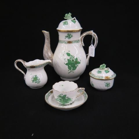 Herend Porcelain Coffee or Tea Service,