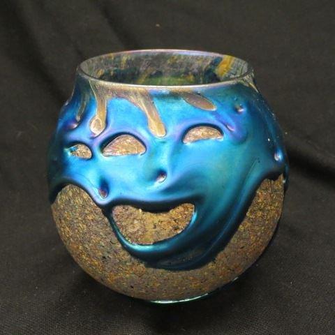 Charles Lotton Art Glass Vase,
