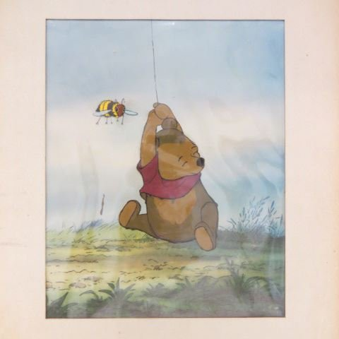 "Vintage Walt Disney Cel ""Winnie the Pooh"","