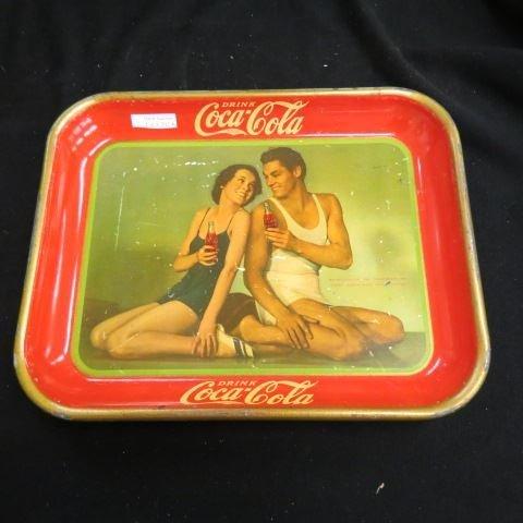 1934 Coca-Cola Serving Tray