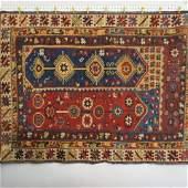 Antique Megri Turkish Handmade Rug,