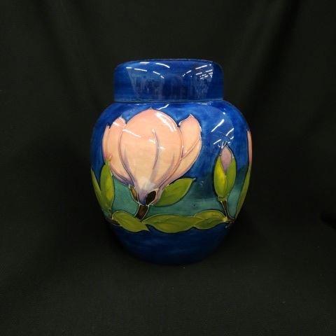 Moorcroft Art Pottery Biscuit Jar,