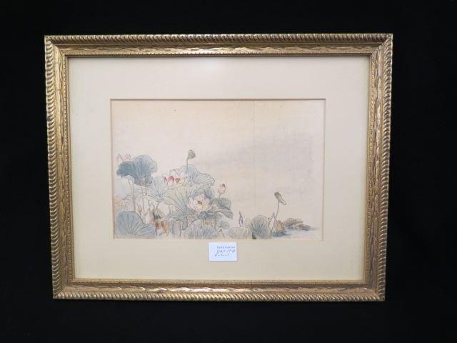 Josephine Zettel, watercolor & ink