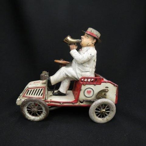 "Lehmann ""Tut Tut"" Tin Wind-Up Car,"
