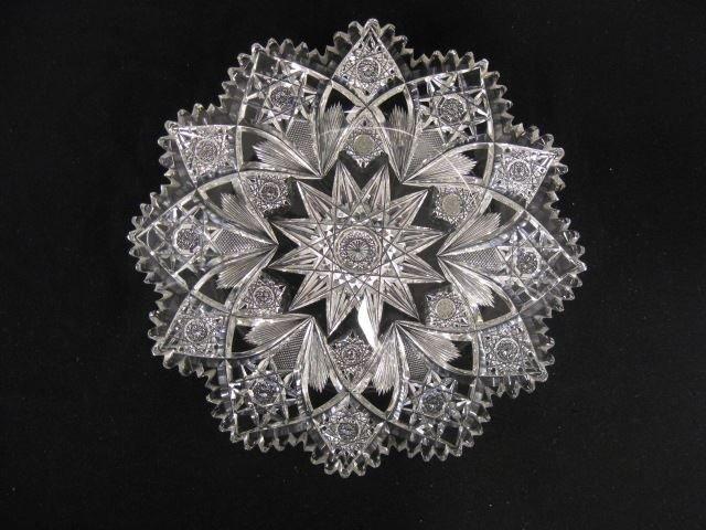 Hawkes Cut Glass Tray, Holland pattern,