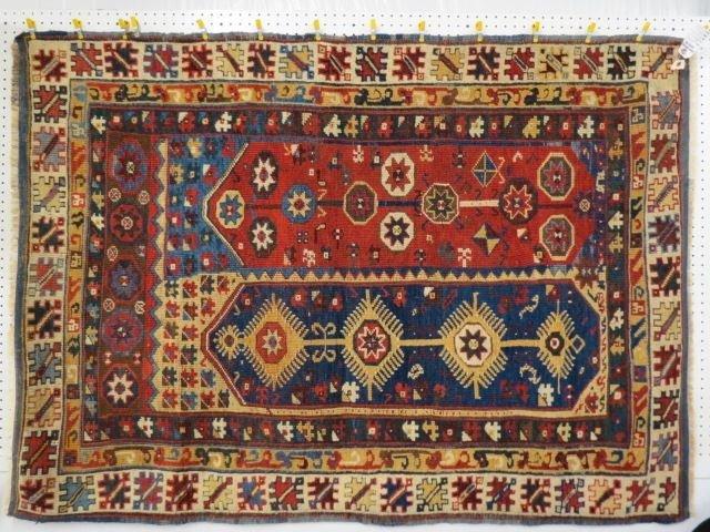 Antique Makri or Megri Turkish Handmade Rug,
