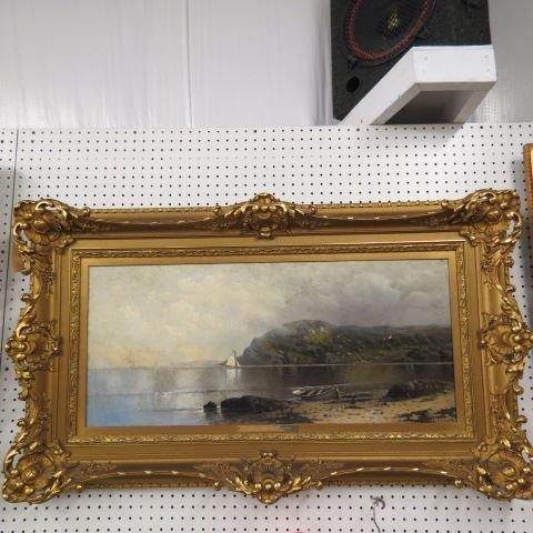 Karl Eugen Felix, oil,