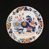 12 Early Mason's Stoneware Plates,