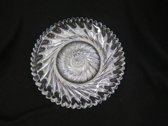 Fry Cut Glass Dish,