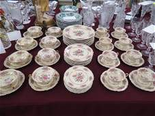 """56 pc. Rosenthal """"Priscilla"""" China Service for 8,"""