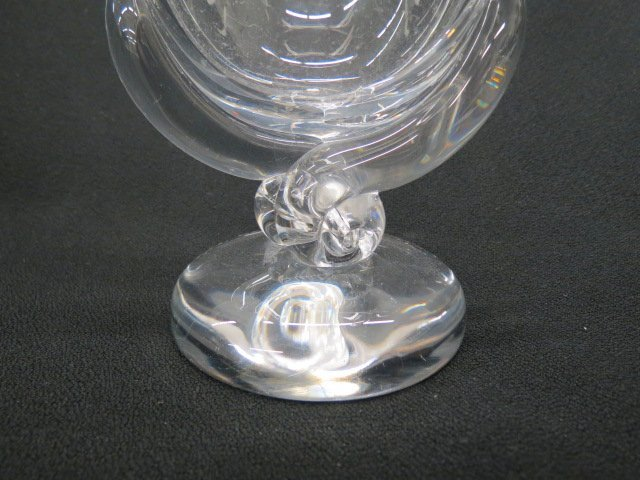 Steuben Crystal Vase, - 2