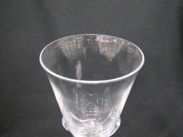 Steuben Crystal Vase, - 4